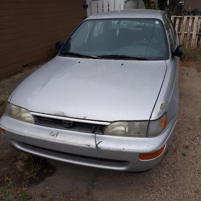 Parts Of A Car 94 >> 94 Toyota Corolla Mechanic S Special Parts Car