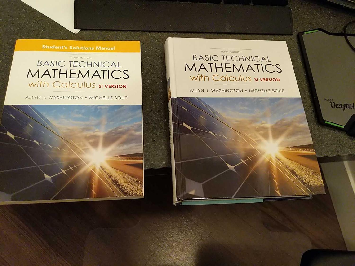 Best Basic Technical Mathematics With Calculus And Student Manual for sale  in Calgary, Alberta for 2019