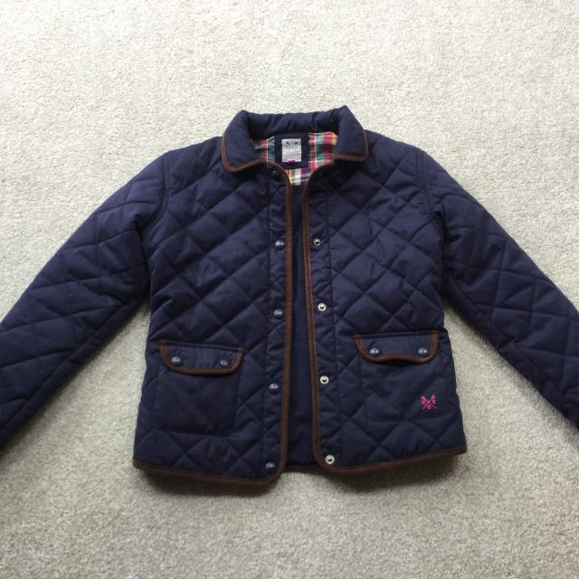 2bb15eac1 Find more Girls Navy Crew Clothing Quilted Jacket