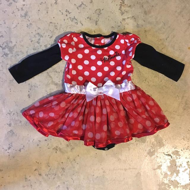 f6589854f Best Disney Minnie Mouse Red & White Polka Dot Halloween Dress Costume Or  Disney Trip Outfit!! 12 Month for sale in Gardner, Kansas for 2019