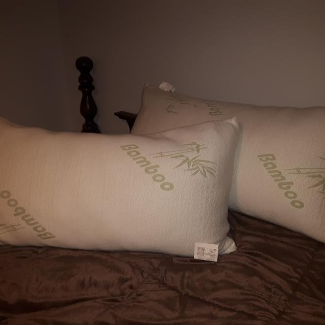 Best 40 King Size Bamboo Pillows Very Clean Home Smoke Free Only Beauteous King Size Pillow Case Covers