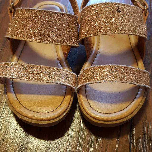 25348961a9926e Best Rose Gold Sparkly Sandals for sale in Mobile