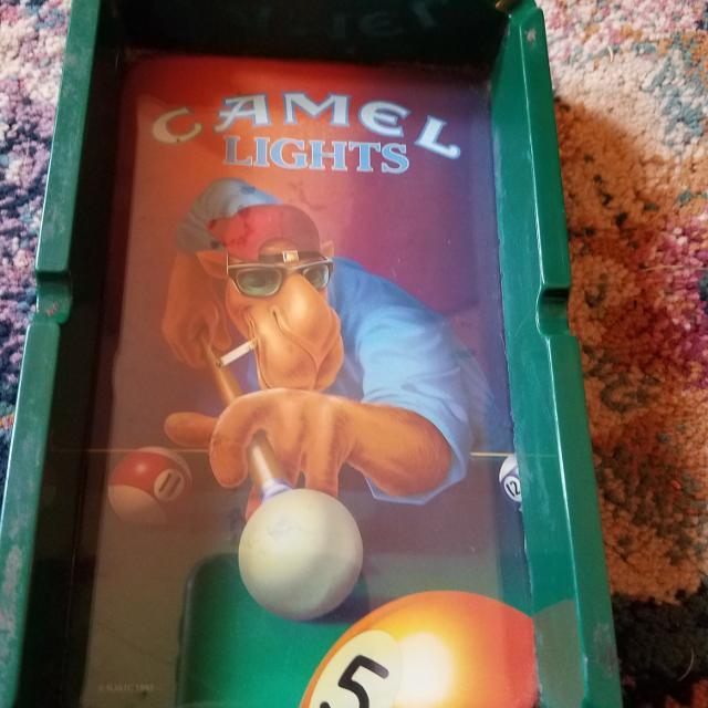 Camel lights ash tray circa 1992