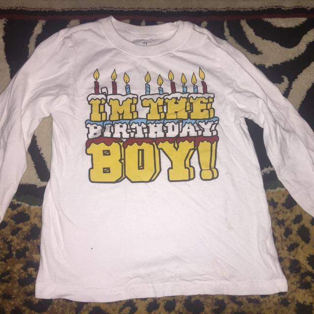 Birthday Boy Shirt 4T