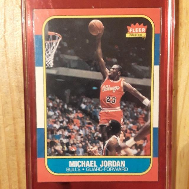 Michael Jordan Rookie Card Mint Condition