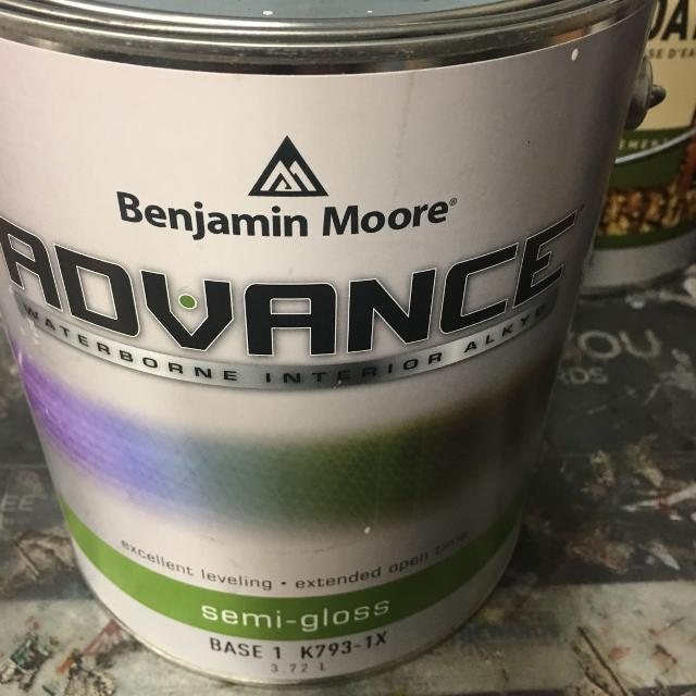 Find More Benjamin Moore Advance Semi Gloss Paint Wind S Breath For Sale At Up To 90 Off