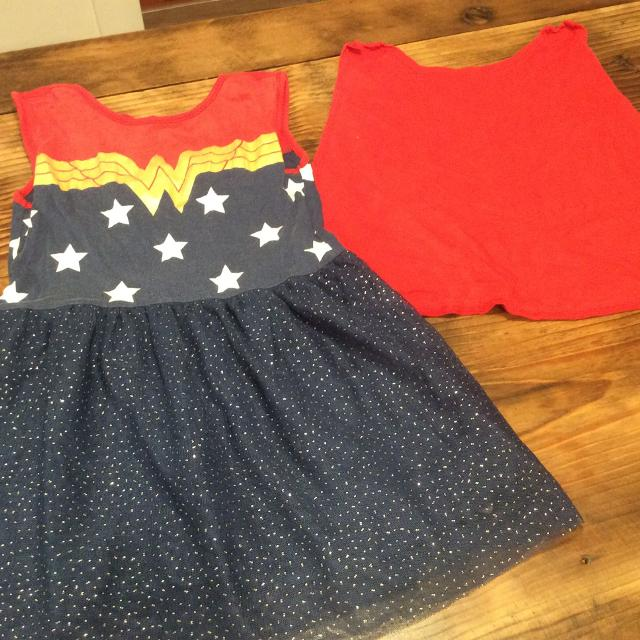 Find More Baby Gap Wonder Woman Dress With Removable Cape Euc Size Extraordinary Wonder Woman Skirt Pattern