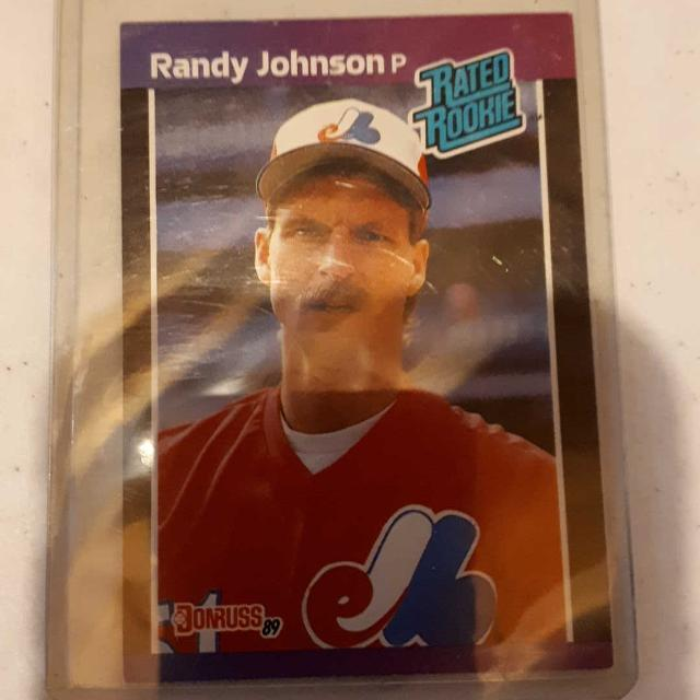 1989 Donruss Randy Johnson Rookie Card