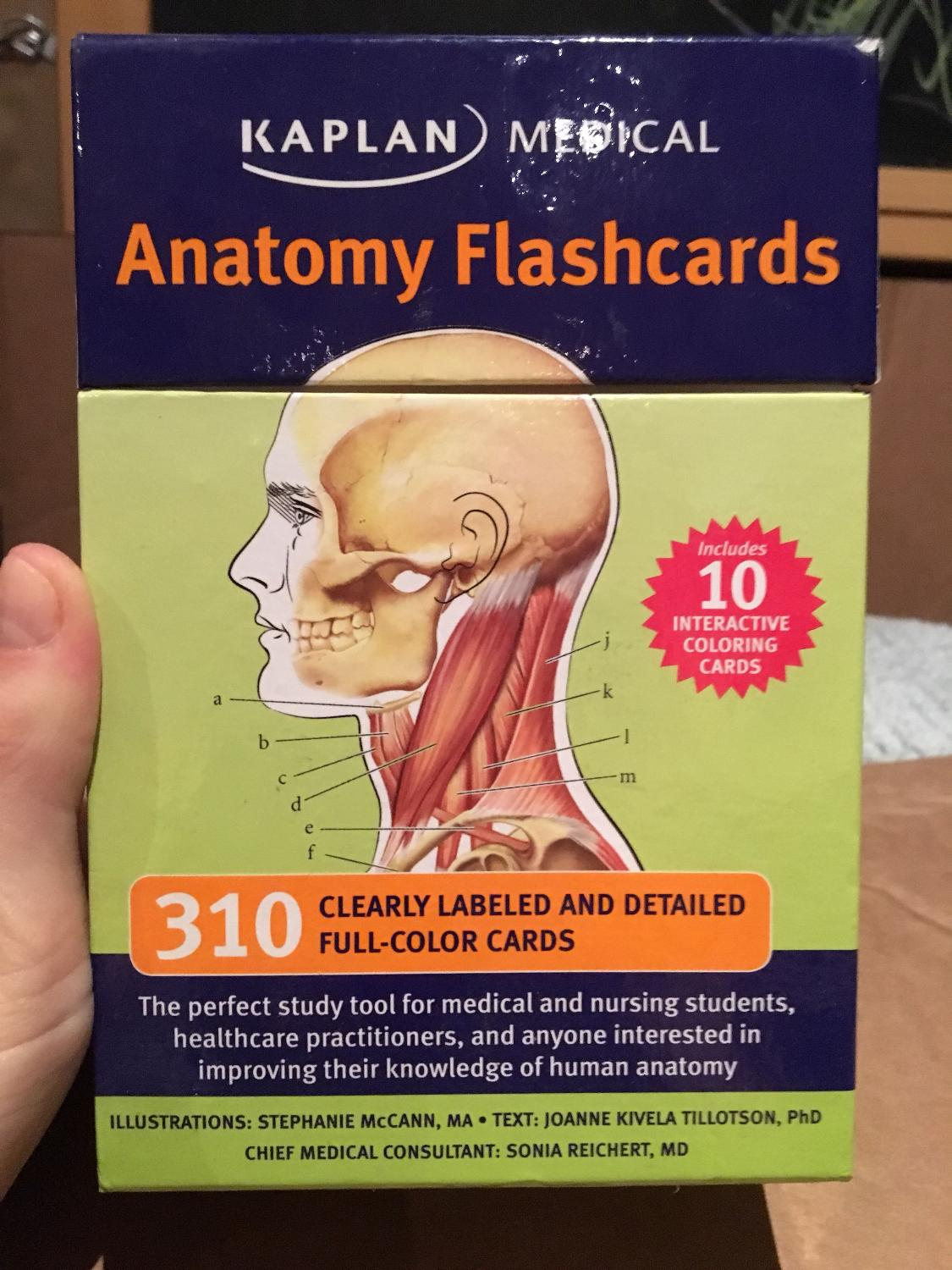 Best Anatomy Flashcards Never Been Used for sale in Oshawa, Ontario ...