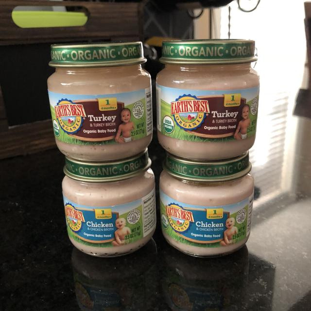 Find More Set Of 4 Earths Best Stage 1 Baby Food 2 Turkey 2