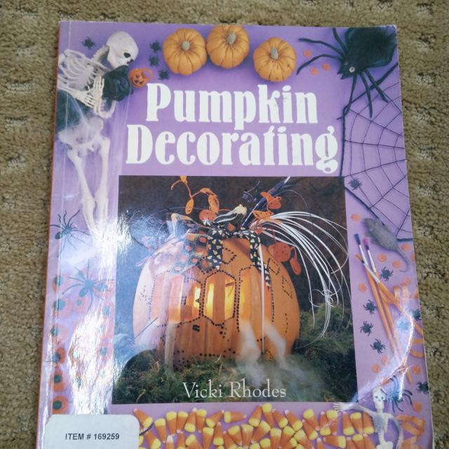 Find More Pumpkin Decorating Book For Sale At Up To 90 Off