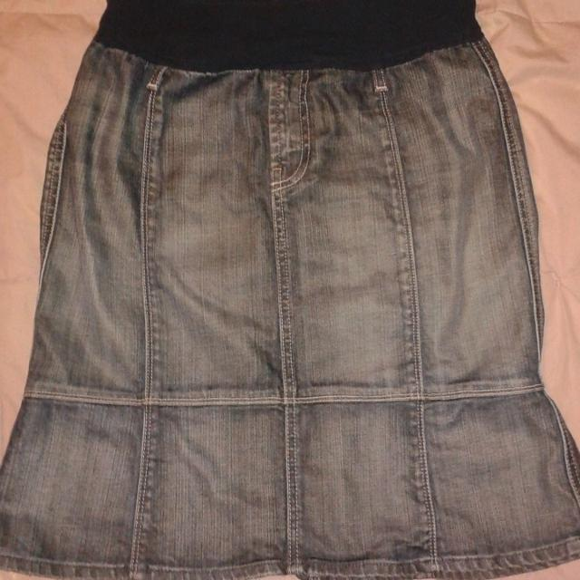 f8b888c817d59 Best Seven For All Mankind Jean Maternity Skirt, Bythe Pod. Size 31(medium  Baby Bump) for sale in Port Huron, Michigan for 2019