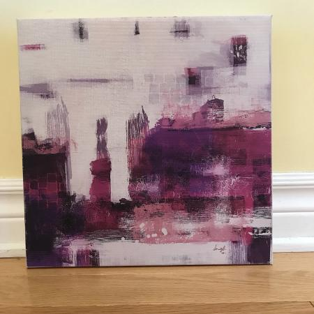 Abstract Canvas Art 12' x 12' for sale  Canada