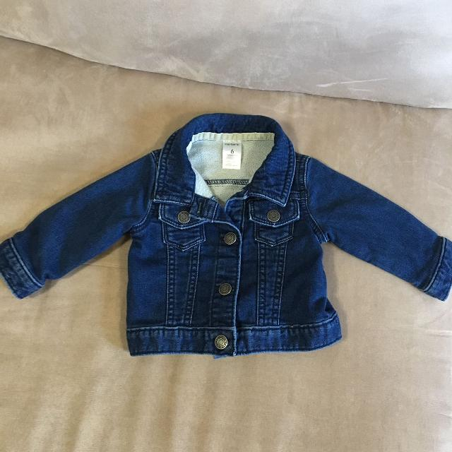 3676445e8d6b Find more Baby Girls Jean Jacket From Carters. Size 6 Mths. Never ...