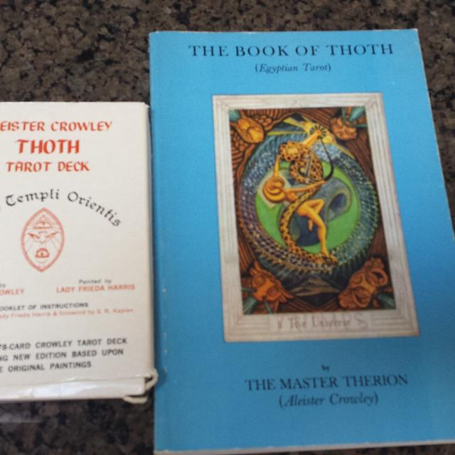 Tarot cards and Book of Thoth