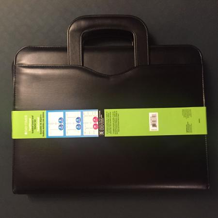 Used, New - Leather Padfolio with Sliding... for sale  Canada