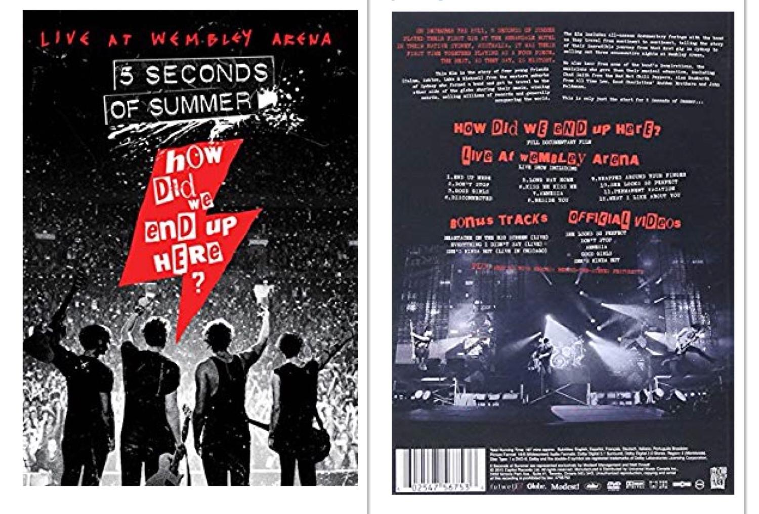 Best 5 Seconds Of Summer How Did We End Up Here Dvd For Sale In White House Tennessee For 2021