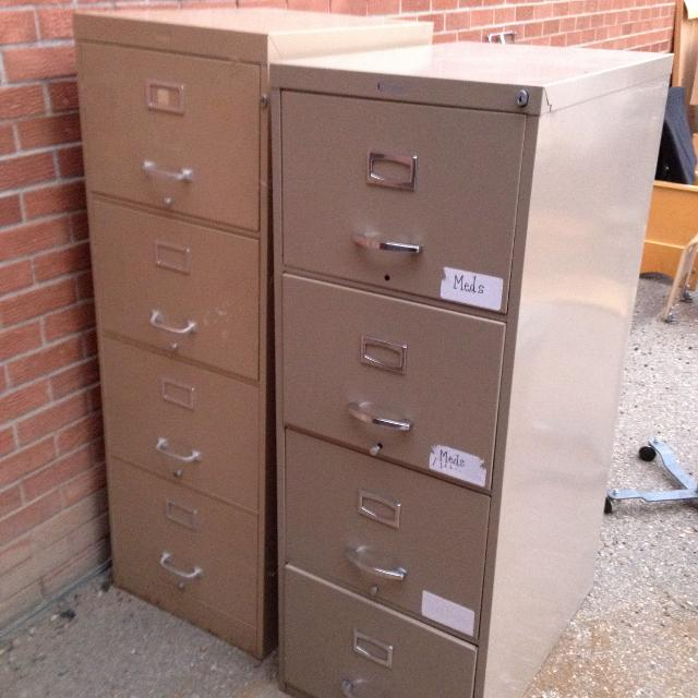 2 Free Filing Cabinets