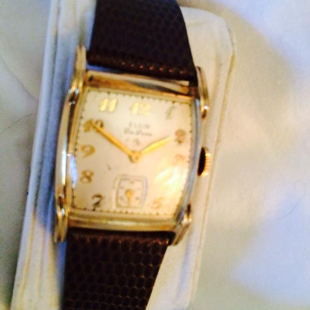 Best Elgin Men's Vintage Watch 1940's. Solid Gold. Works Great, Great Wind  Up Wristwatch And Collectible. West Meade for sale in Nashville, Tennessee  for ...