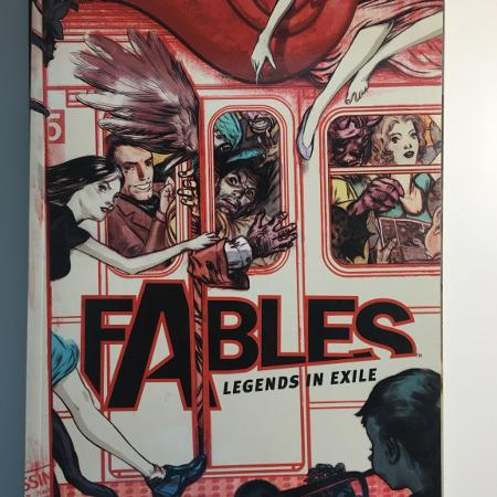 Fables comic TPB #1, used for sale  Canada