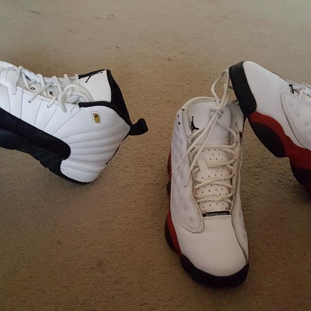 low priced a949d 106a1 Jordan 12 taxi size 3y and Jordan 13 size 4y