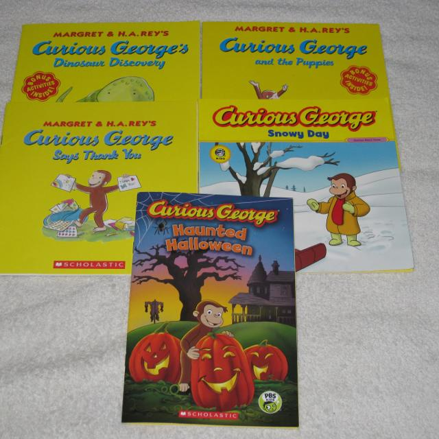 Best Curious George Childrens Books Check It Out Special Sale