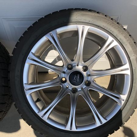 Winter tires on rims for sale  Canada