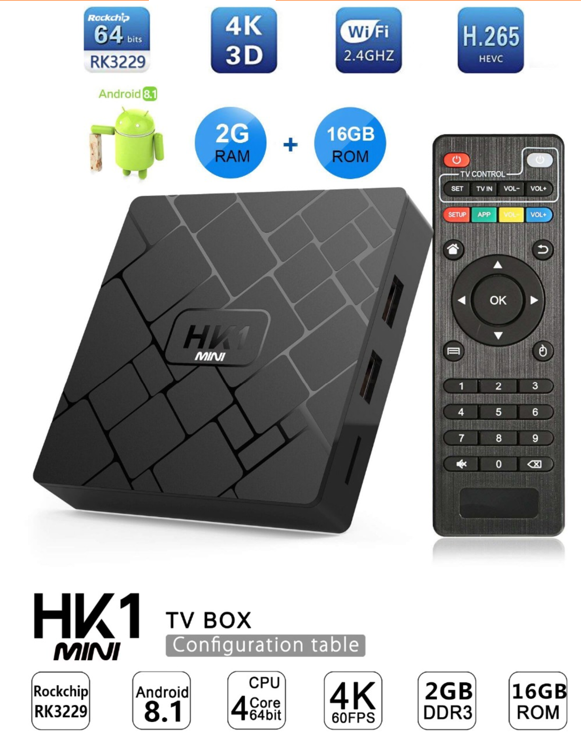 Live TV subscription or Brand New loaded android TV box 4K