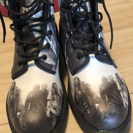 Norman Redus Walking Dead high top..., used for sale  Canada