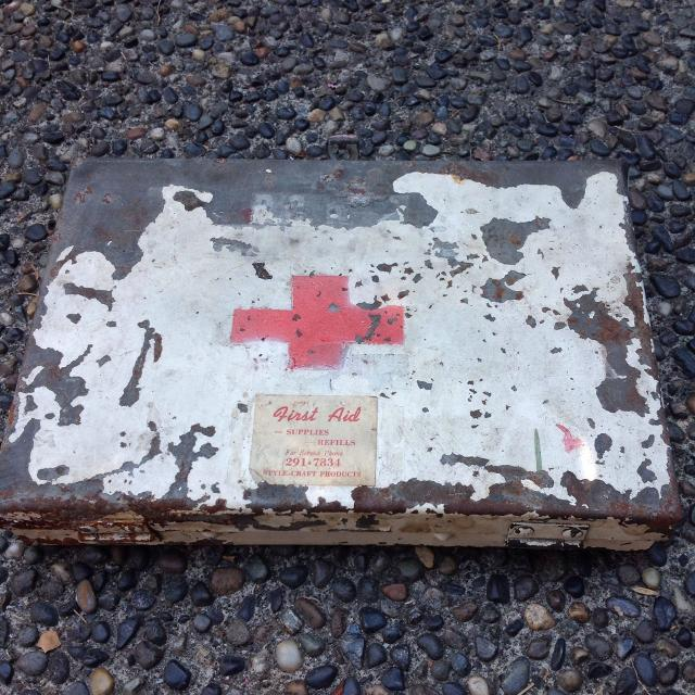 find more old metal first aid kit for sale at up to 90 off