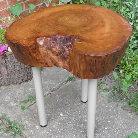 Wood Slab Coffee Table, used for sale  Canada