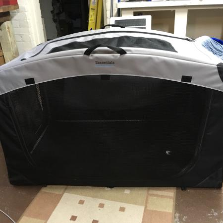 Soft ,collapsible,large dog cage for suv for sale  Canada