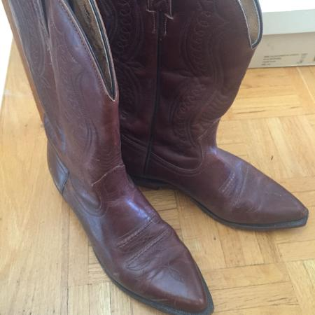Used, Boulet Ladies cowboy boots for sale  Canada