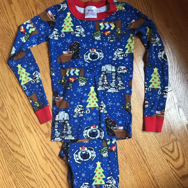 hanna andersen star wars christmas pajamas size 67 - Star Wars Christmas Pajamas
