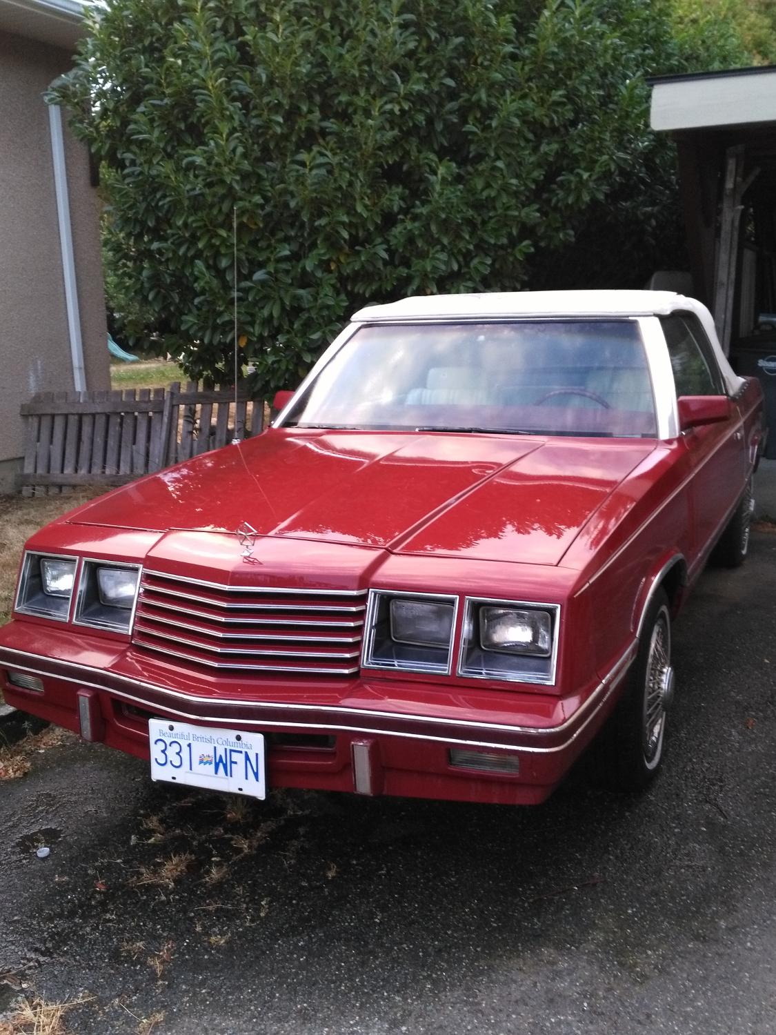 Best Classic 1984 Dodge 400 Convertable For Sale In Vernon