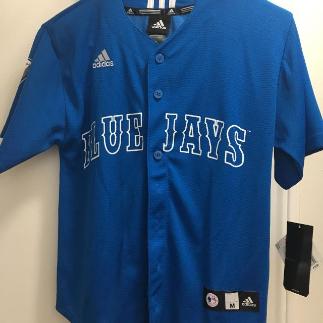 6b442999b9c Best Brand New Blue Jays Adidas Shirt for sale in Etobicoke