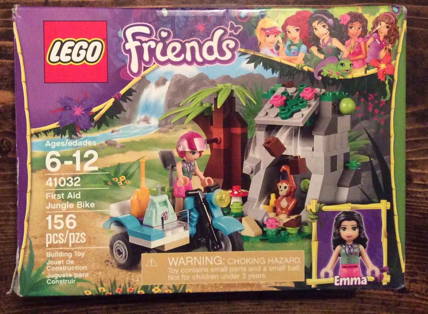 Find More Lego Friends First Aid Jungle Bike For Sale At Up To 90 Off