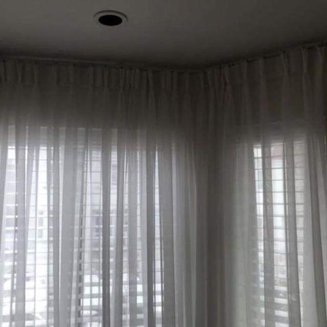 Best ***price Drop*** White Sheer Curtains Blinds Window