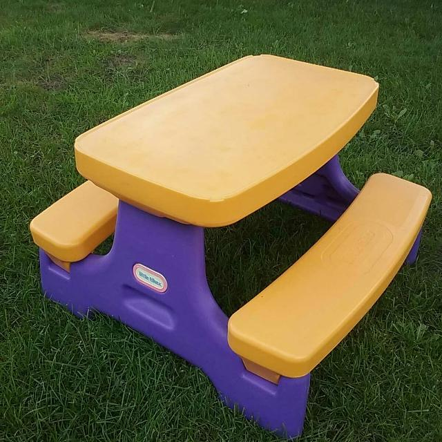 Best Little Tikes Picnic Table For Sale In Port Huron Michigan For - Picnic table michigan