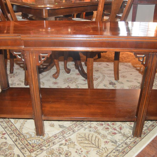 Best Antique Sofa Table Solid Wood For Sale In Morton Illinois For 2018