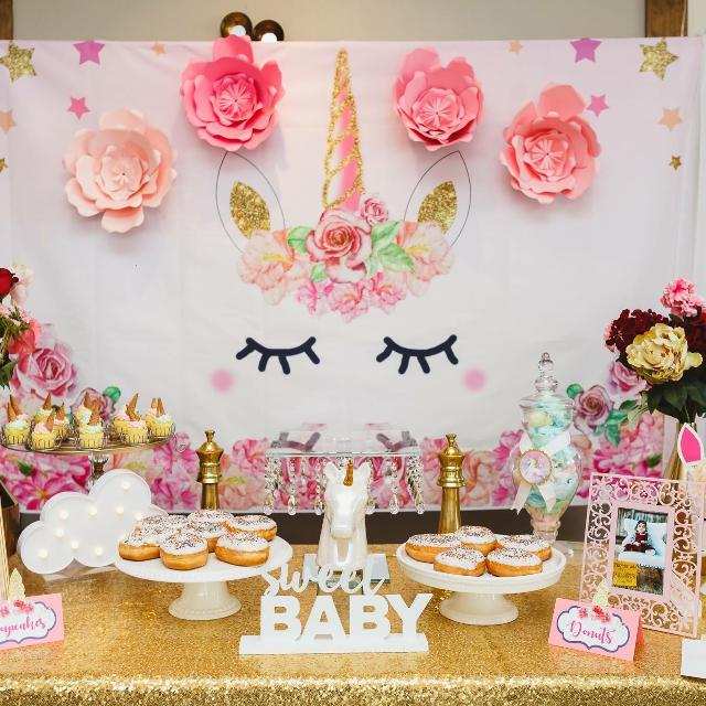 Best Unicorn Party Decor For Sale In Rosenberg Texas For 2019: Best Unicorn Birthday Baby Shower Party Supplies For Sale
