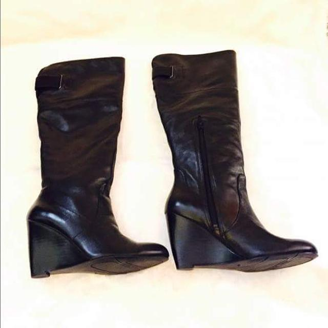 d64106b14fb Best Nine West Black Leather
