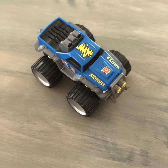 Fisher price monster toy truck with lights and sounds