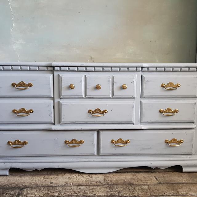 hot sale online 1bc2b 4ed48 Light Grey Dresser