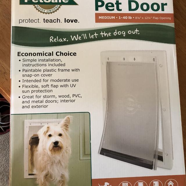 Best Med Pet Safe Dog Door For Sale In Piatt County Illinois For 2018