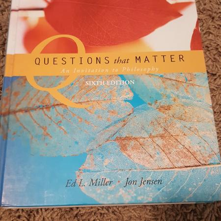 Used, Questions That Matter: An Invitation... for sale  Canada