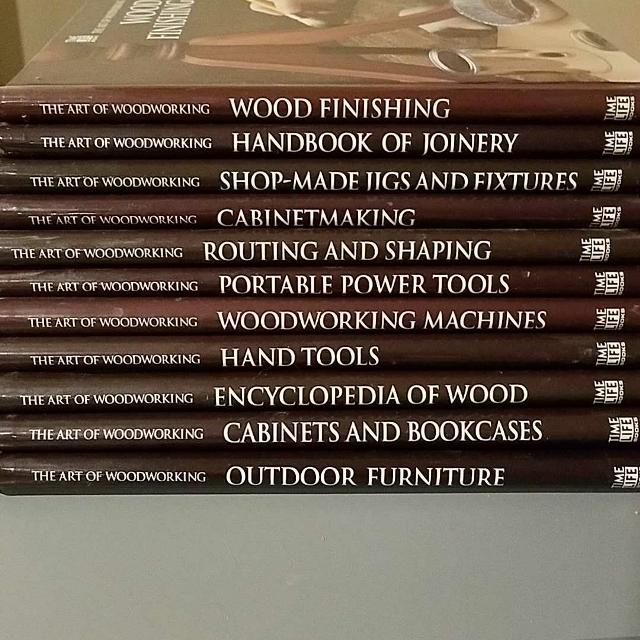 The Art Of Woodworking Books