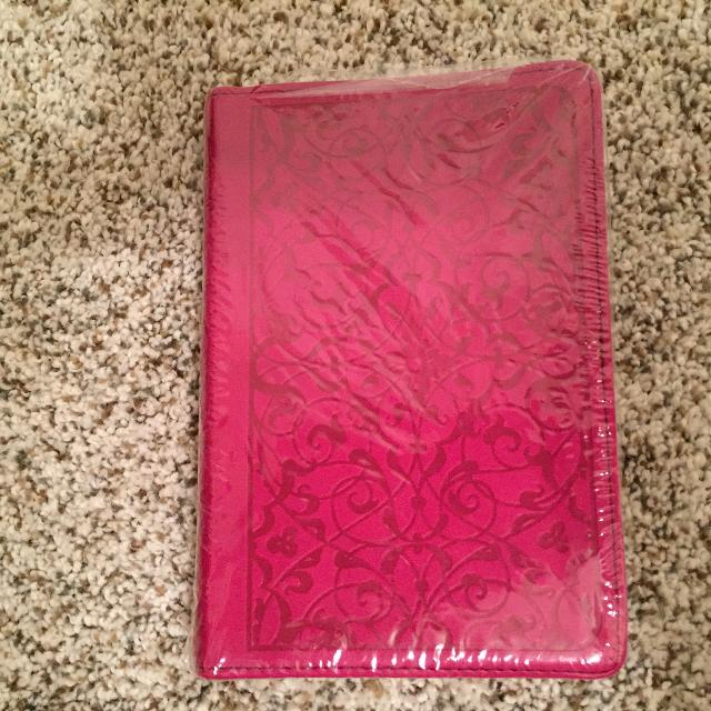 NEW Bible - ESV - English Standard Version - pocket size - color dark pink  - NEW REDUCED