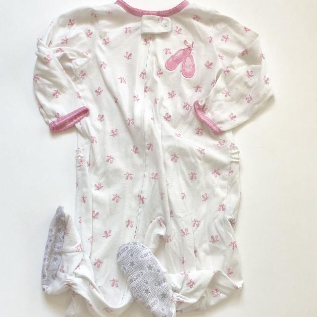 a1a9015fa Find more Carters Baby Girls Ballet Cotton Footed Sleeper Pajamas ...
