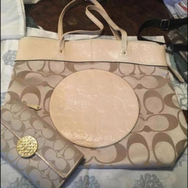 7ea3365f397f Best Coach Purse And Wallet Set for sale in Ardmore